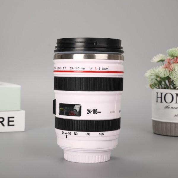 Camera Lens Shaped Thermal Mug