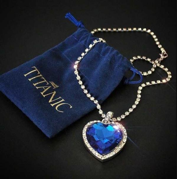 Ocean Blue Titanic Pendant
