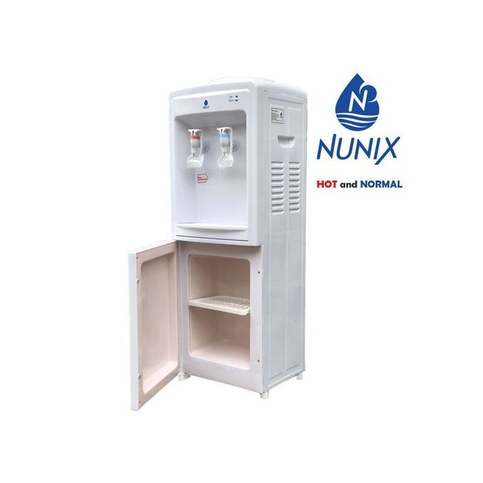 Hot And Normal Standing Water Dispenser-white
