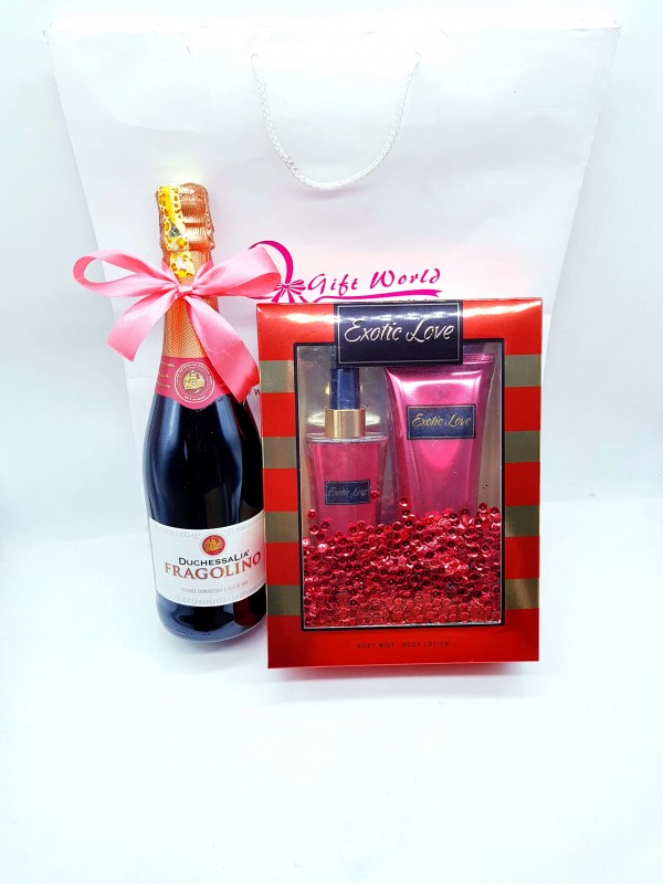 Exotic Love & Red Sparkling Wine