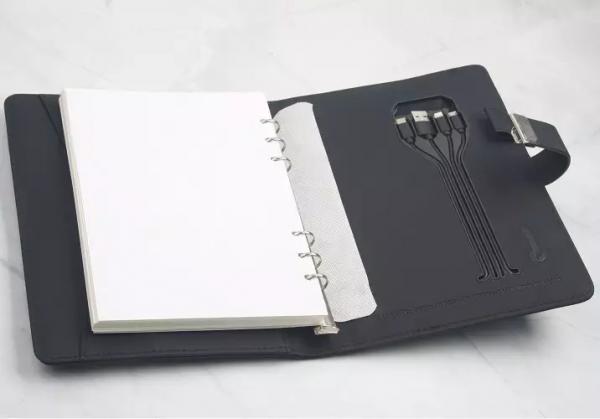 Luxury Multipurpose A5 Notebook With Inbuilt Powerbank