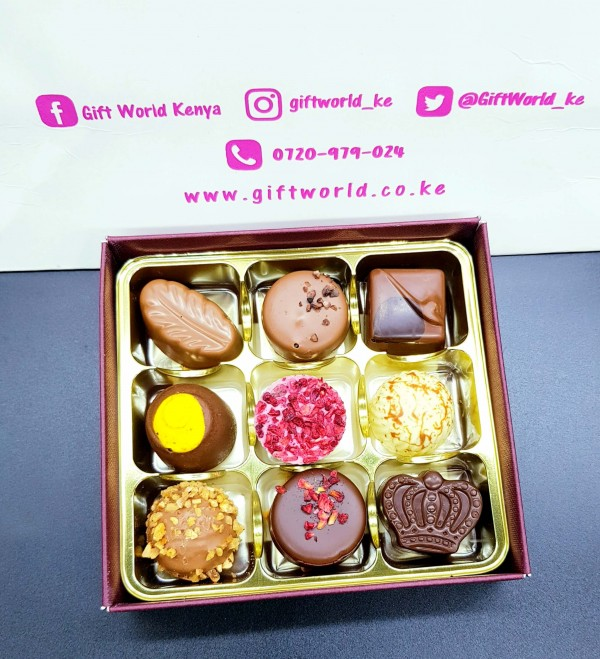 Gourmet 9pcs Assorted Chocolates Pack