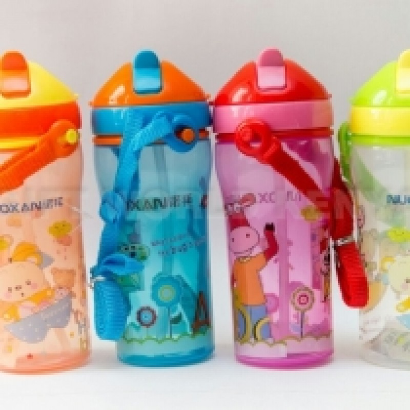 Kids Water Bottles (4pcs) Blue And Yellow Only