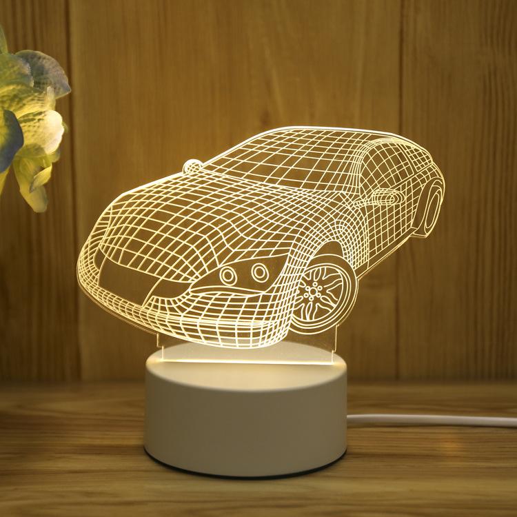 Car 3d Visualization Lamp