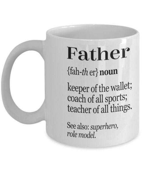 Father Personalized Mug