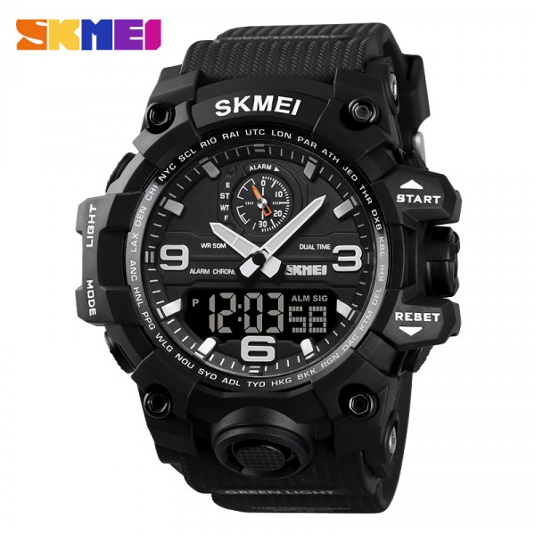 Skmei 1586 Unisex Sports Watch