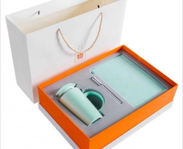 Notebook ,pen ,mug+lid