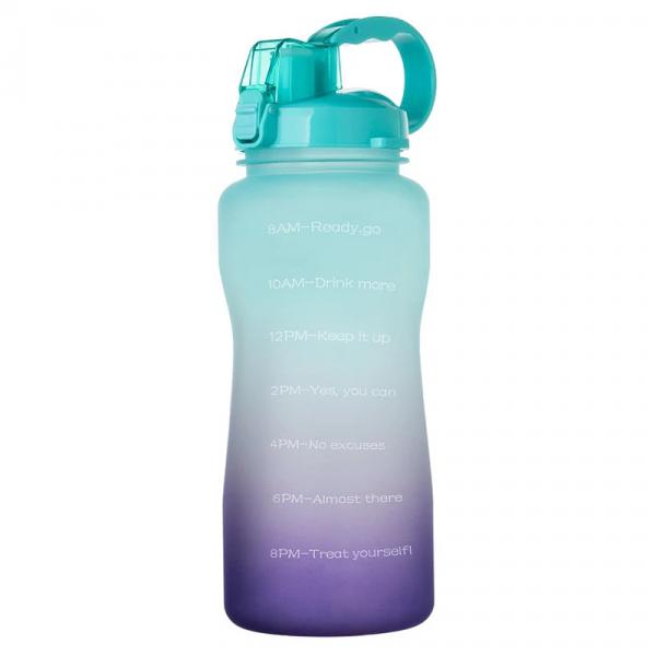 2.2ltr Bpa Free Gradient Colours Water Bottles