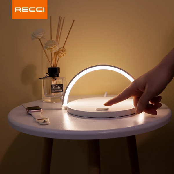 Multipurpose Touch Night Lamp With Wireless Phone Charger