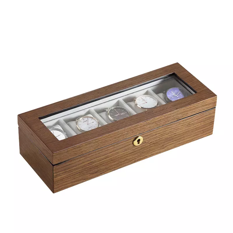 Bora Wooden Luxury 5pc Watch Organizer
