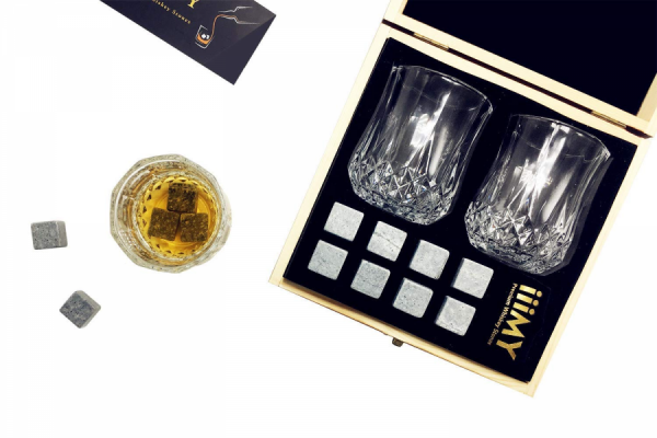 Whisky Stones &crystal Glass Set