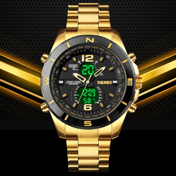 Military 1670 Men Led Digital Quartz Watch