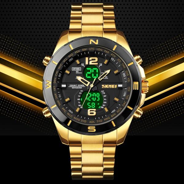 Military 1670 Men Led Digital Quartz Watch