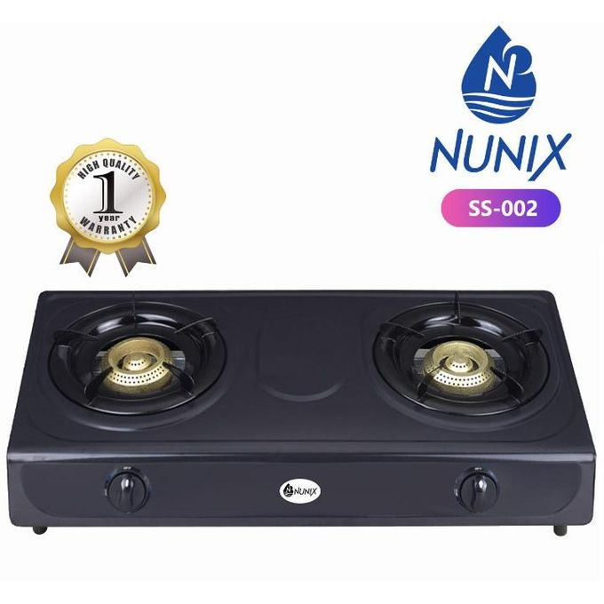 Table Top Double Burner Gas  Cooker
