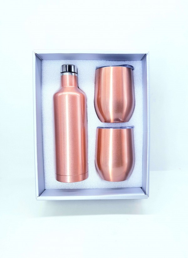 Exquisite Hydro Bottle & Flute Set