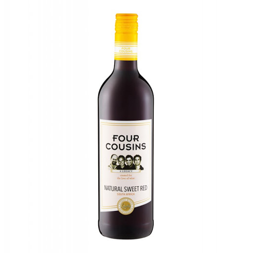Four Cousins Red Sweet Wine
