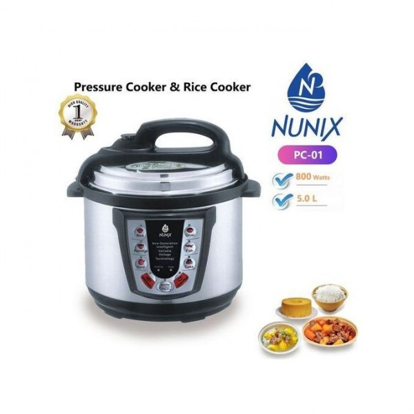 Electric Pressure Cooker And Rice Cooker 5ltrs