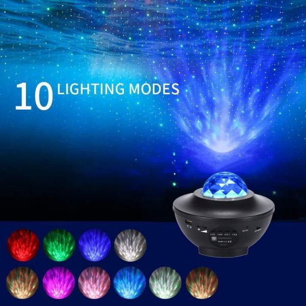 Bluetooth Galaxy Sky Led Night Light Starry Projector