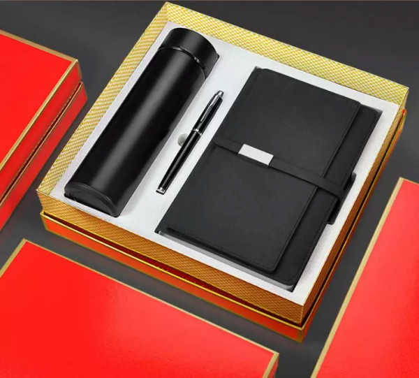 Thermal Bottle,notebook & Pen Set