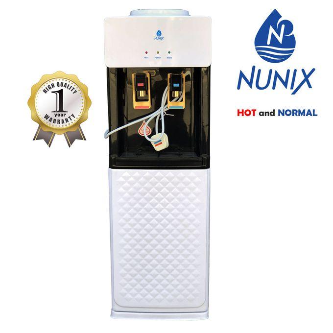 Hot And Normal Standing Dispenser -  White & Black