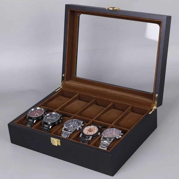 Rome 10 Slot Luxury Watch Organizer