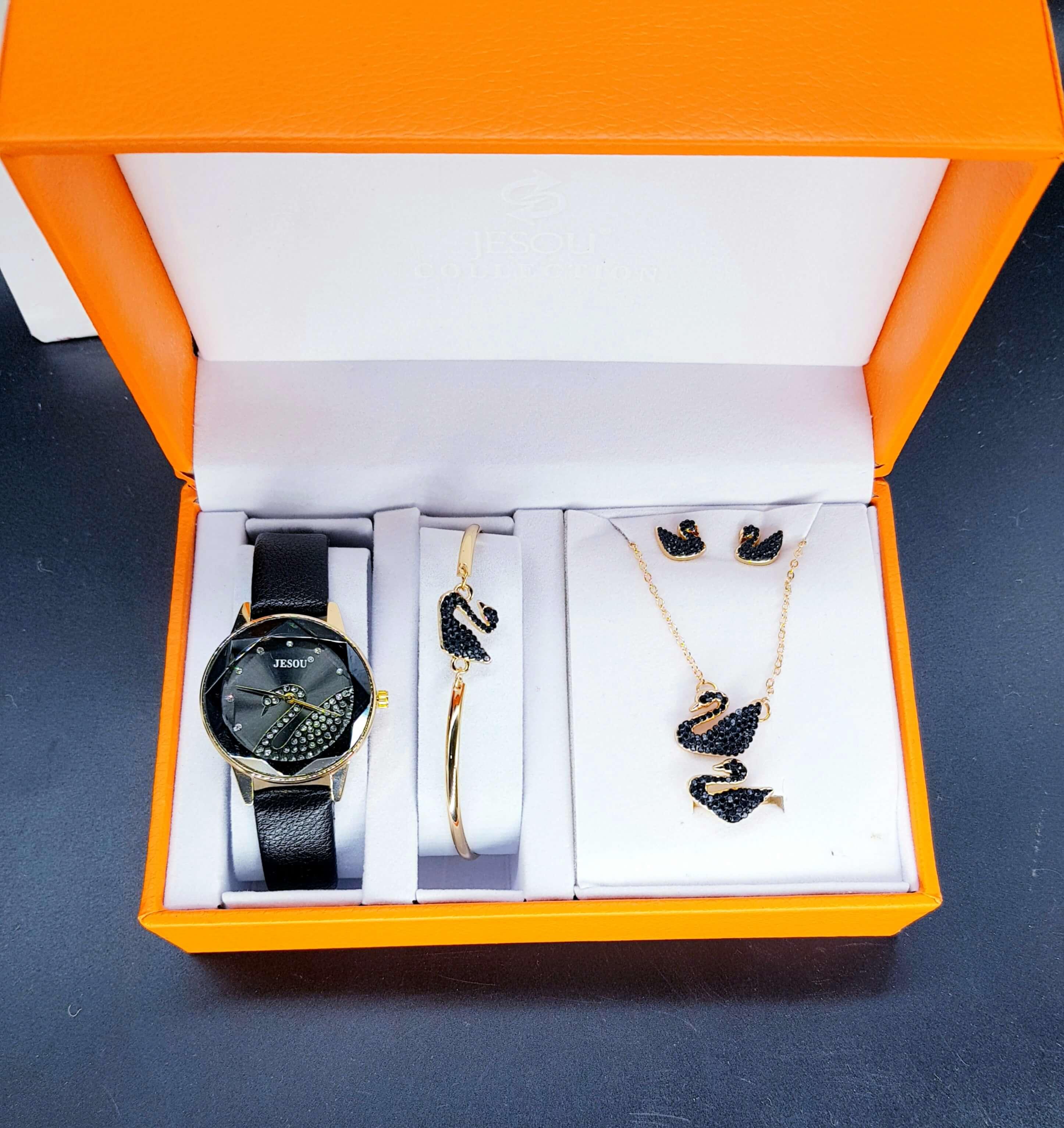 Swan Luxury Jewelry Gift Set (5pc)