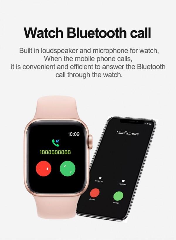 T500+ Bluetooth Call Smart Watch