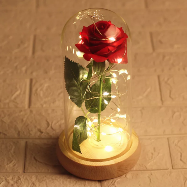 Forever Eternal Rose Led Dome