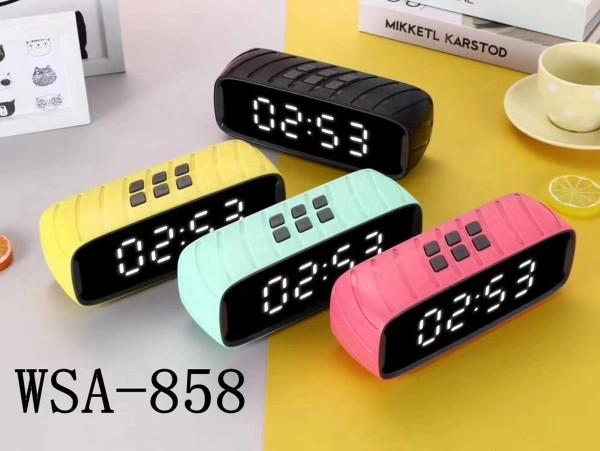 Wireless Bluetooth Speaker With Digital Alarm