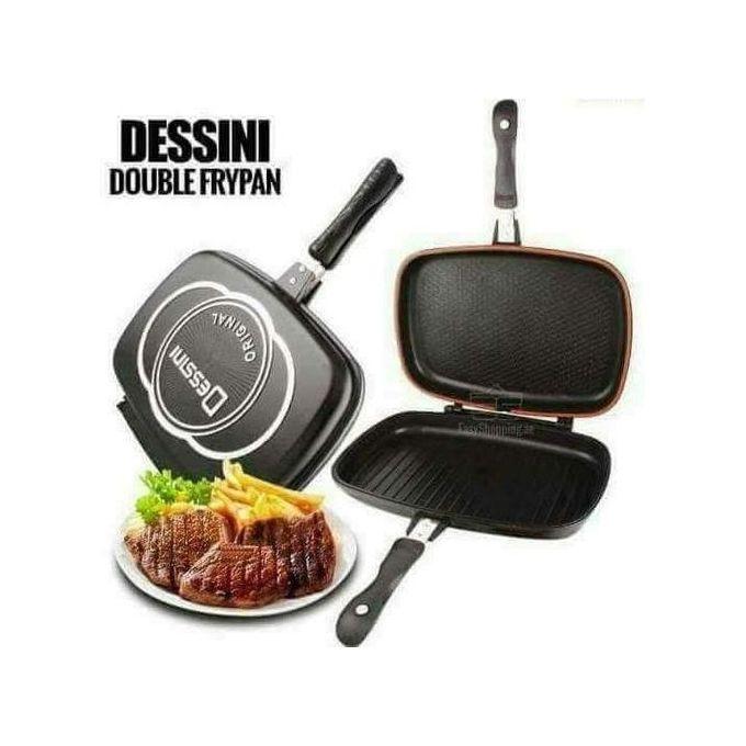 Dessini Double Grill Pan 36cm - Non Stick