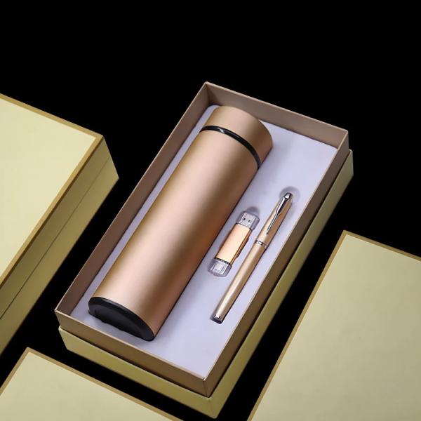 Thermal Bottle ,flash Disk & Pen Set