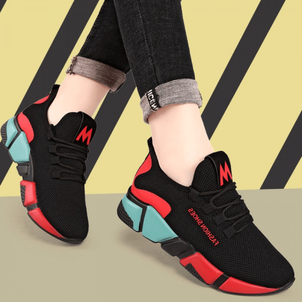 Ladies Fashion Breathable Sports Sneakers