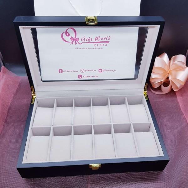 Rome 12 Slot Luxury Watch Organizer