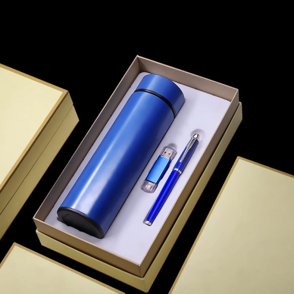 Thermal Bottle ,flash Disk & Pen Set