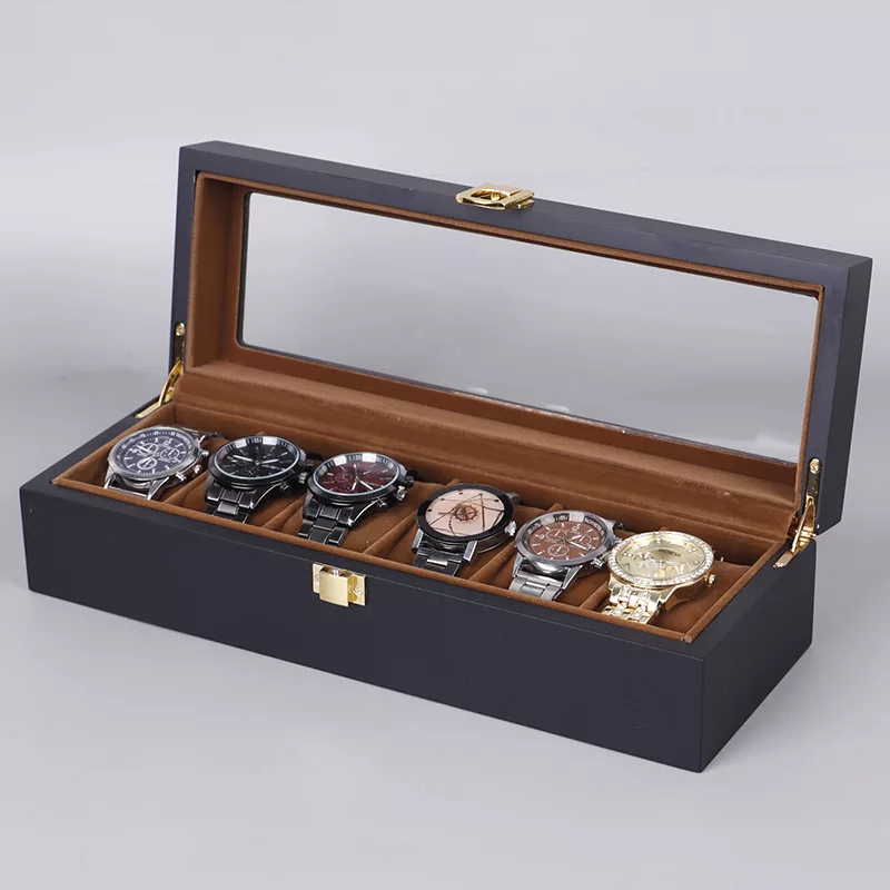 Rome 6slot Luxury Watch Organizer