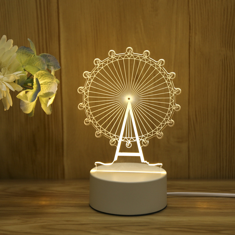 London Eye 3d Visualization Lamp