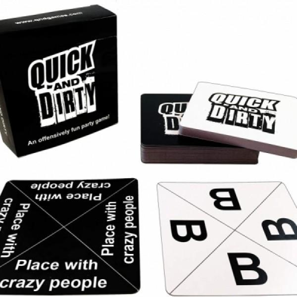Quick & Dirty Fun Card Game