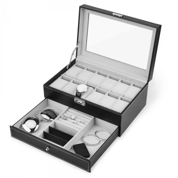 Ny Multipurpose 12 Slot Watch / Accessories Organizer