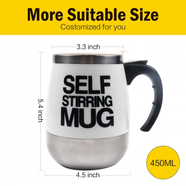 Self Stirring Thermal Mug