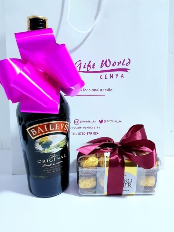 Baileys & Ferrero Rocher Chocolates